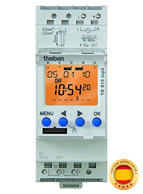 Theben 6104100 TR 610 TOP2 - Interruptor horario digital