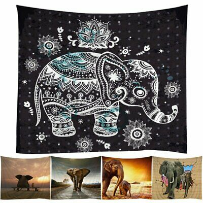 Indian Mandala Tapestry Wall Hanging Bohemian Decor Hippie Queen Bedspread Throw