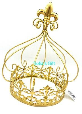 Perfect Quinceanera Wedding Decorations Table Centerpieces,caketopper ,gold Crown  11u201d