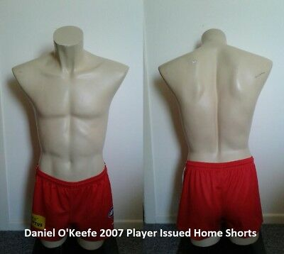 Sydney Swans Daniel O'Keefe Player Issued Home Shorts