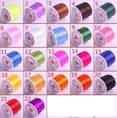 Strong Stretchy Elastic Beading Thread Cord Bracelet String Jewelry Making 100m