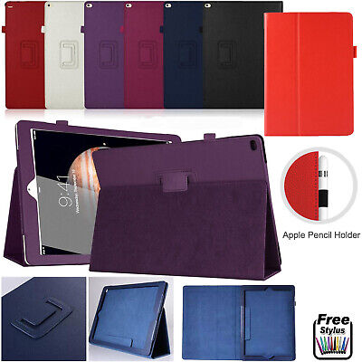 Leather Smart Flip Folio Stand Case Cover For All Apple iPad Models