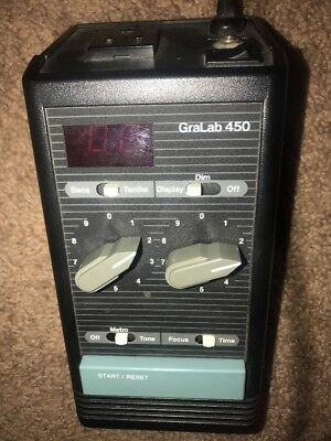 GraLab 450 Darkroom Digital Timer Photo Enlarging Tester