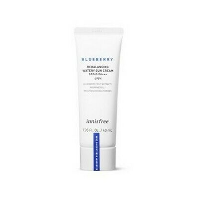 [Innisfree] Blueberry Rebalancing Watery Sun Cream SPF37 PA+++ 40ml
