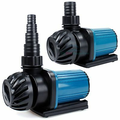 Aquarium 1200-3200GPH Pond Pump Fountain Submersible Inline Hydroponics