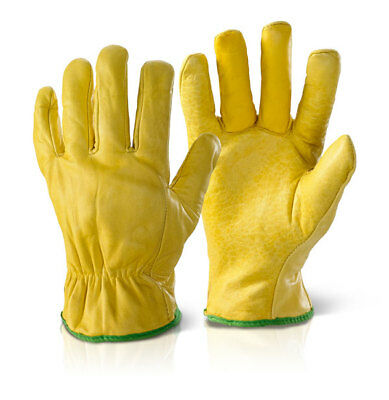 Leather Lined Drivers Gloves