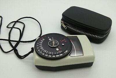 Vintage Capital TK79 selenium Exposure Light Meter in Good Working Order