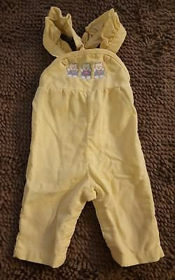 Vintage Health-Tex*Yellow Baby Girl Romper*Size 6mos*USA Made*EVC