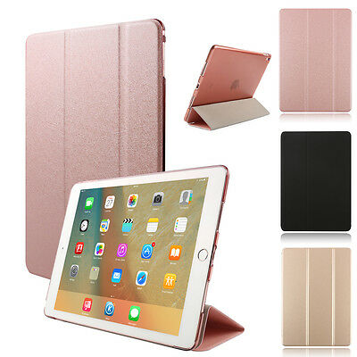 iPad 9.7 Pro 9.7/10.5/12.9 Air 2 Slim stand Leather Smart Case Shockproof Cover