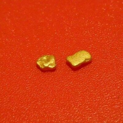 AUST 2 NUGGETS 0.41g FREE REGISTERED POST
