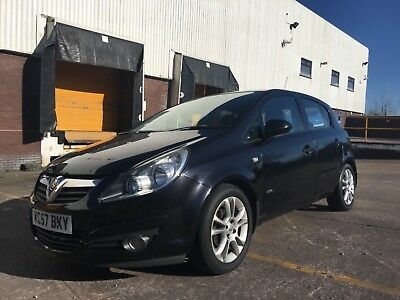 Vauxhall Corsa 1.4i 16v SXI 5dr, 2007 57 reg, Low Mileage, Spares or Repairs