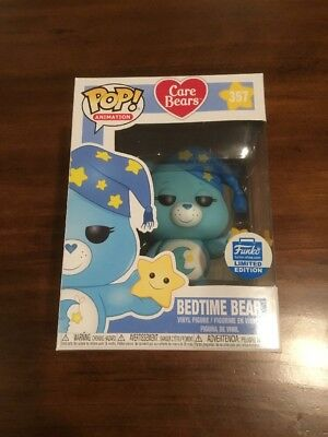 Funko Pop! Care Bears Bedtime Bear #357 Sold Out Limited Edition