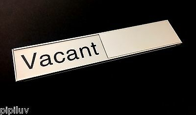 Vacant In Use Door Sign 213mm Long for Meeting and Conference Rooms