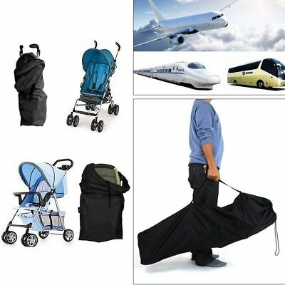 Waterproof Pram Gate Check Travel Bag Umbrella Stroller Pushchair Buggy Cover