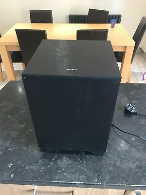 Sony Active Wireless Subwoofer Speaker SA-WCT260H w/ Sony EZW-RT50 Transceiver