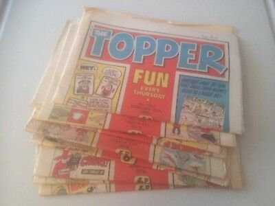 Topper Comics x10 Consecutive From 1976 #1204-1213 Inclusive