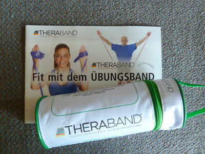 Original THERABAND Sport Fitness Terra Band Gymnastik Physioband 2,5 Meter