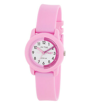 NEW Cactus Watches Time Teacher Nipper Pink