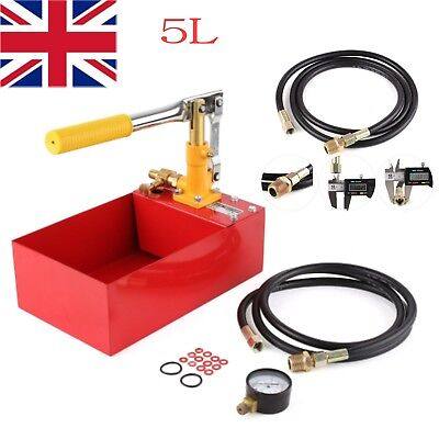 Water Pipe Line Installation Heating System Leakage Pressure Tester Pump Kit Hot