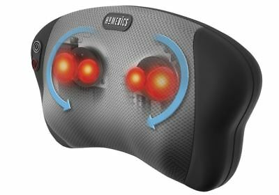 Homedics Dual Shiatsu Massage Pillow For Neck Back Shoulders Legs + Heat Sp-6H