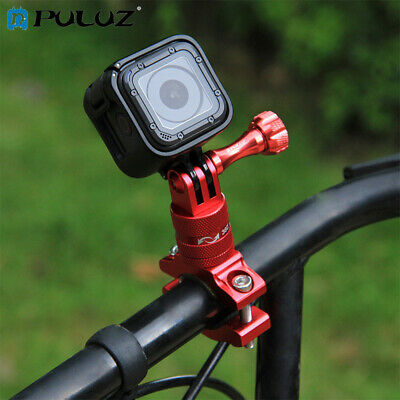 PULUZ Aluminum Handlebar 360 Rotation Bike Mount Holder for GoPro HERO6 5 4 3 2