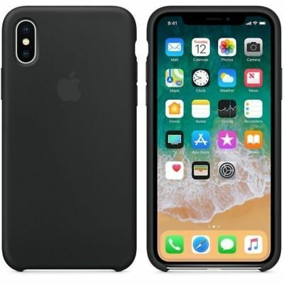 Genuine OEM Original Silicone Luxury Ultra-Thin Case for Apple iPhone X