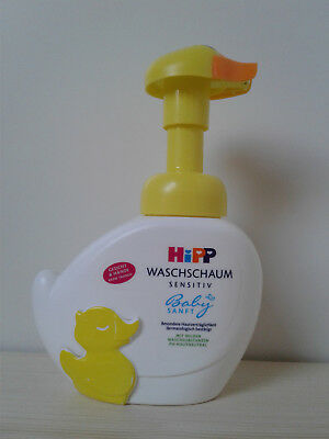 Hipp Baby Sanft Face and Hand Wash Foam 250ml / 8.45oz. from Germany