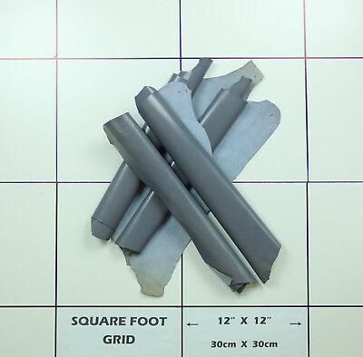Kid leather for bookbinding Lightweight 0.7/0.8mm Grey BARKERS HIDE & SKIN N313