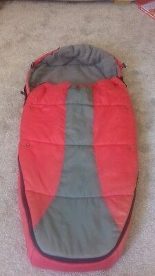 Phil and teds snuggle &snooze sleeping bag /cosytoes/footmuff