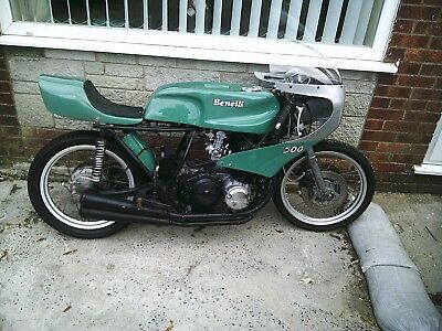 benelli 500 four classic race or parade bike