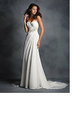 BNWT Alfred Angelo Bridal Size 16 Colour Ivory Style 2514 Wedding Dress RRP GBP800