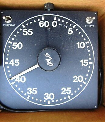 Gra-Lab Model 400 Photography Darkroom Enlarger 60 Second Reset Electric Timer