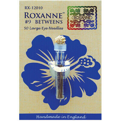 Colonial Needle RX120-09 Roxanne Betweens Hand Needles-Size 9 50/Pkg