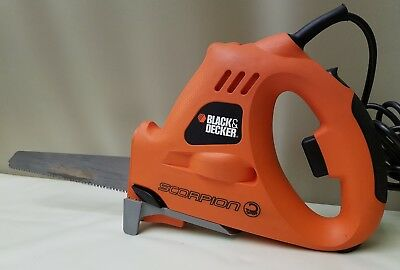 BLACK and DECKER KS890E Scorpion Saw  Powered Electric Hand Saw with Blade C15