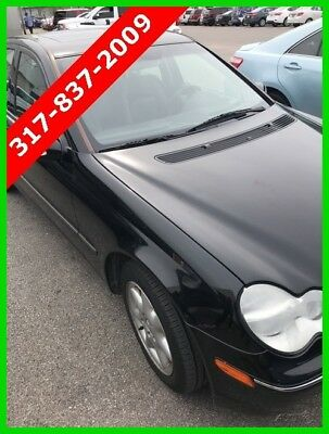 Mercedes-Benz C-Class C 240 2003 C 240 No Reserve Used 2.6L V6 18V Manual RWD Sedan Premium