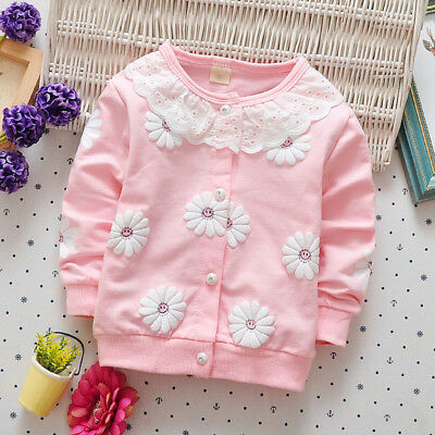 Kids Newborn Baby Girls Girl Clothes Clothing Toddler Infants Child Coat Jacket