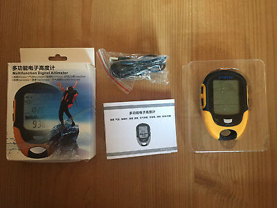 Multifunction Digital Altimeter SUNROAD