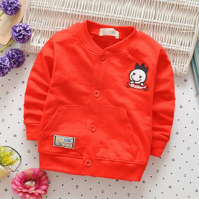 Kids Baby Boy Casual Clothes Clothing Jacket Toddler Infant Newborn Boys Coats