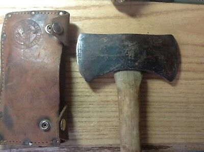 Vintage Genuine Norlund.   Duoble Bit  Camping Axe ....