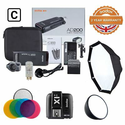 Godox Witstro AD200 Kit For Location Photography and Studio Photography