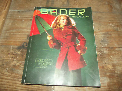Bader katalog mode herbst winter 1963 64 eur 25 00 for Design versandhaus