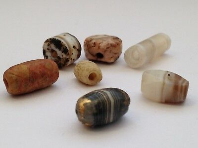 Ancient Tibetan Beads  King Solomon Agates 2000 Years Old