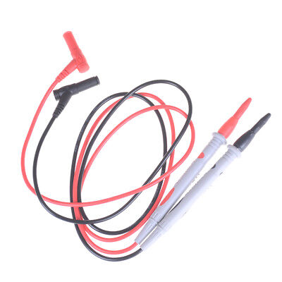 2X/set Needle Tipped Tip Multimeter Probes Test Leads Tester 1000V 10A Cable YJ
