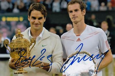 Tennis  -  Roger Federer  &  Andy Murray
