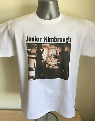 Junior Kimbrough fan T-SHIRT - American Blues guitar