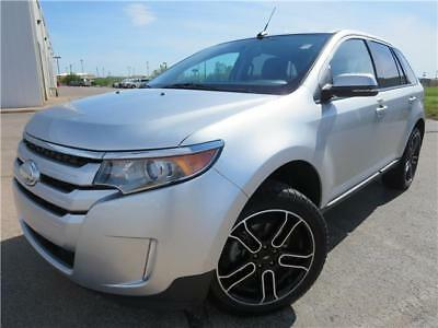Edge SEL 2014 Ford Edge SEL Silver Sport Utility V6 Cylinder Engine 3.5L/213 Automatic
