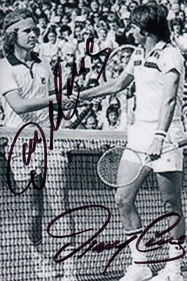 Tennis  -  John McEnroe  &  Jimmy Connors