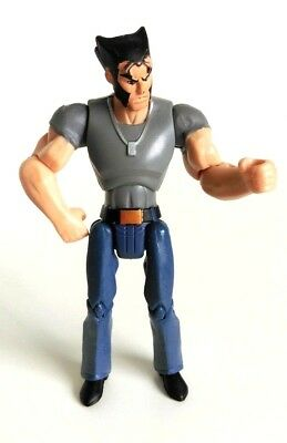 """Marvel Action Figure 3.75"""" Wolverine and the X-Men Animated Series - Logan"""