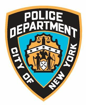 NYPD Police Sticker Decal R4857 New York Police Department