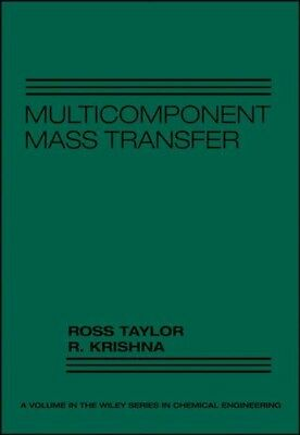 Multicomponent Mass Transfer, Hardcover by Taylor, Ross; Krishna, R.